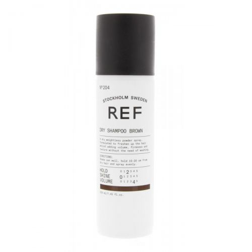 REF Brown Dry Shampoo 204 220ml