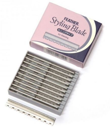 Feather Styling Blades - Thinning Blades 10 stuks