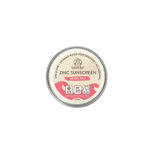 Suntribe Face & Sport Mineral Sunscreen SPF30 10gr Red