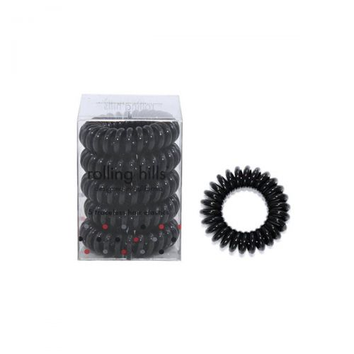 Rolling Hills Professional Hair Rings 5pc Black